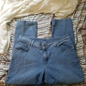 riders by lee straight leg jeans